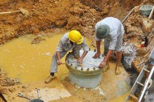 Vinaconex 'chốt' thời gian hoàn thành đường ống nước sông Đà số 2