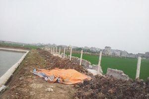 Hưng Yên: Dân xây nhà trái phép, xã 'ngại' không xử lý