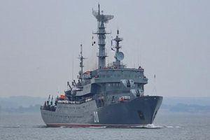 Ảnh hiếm tàu huấn luyện bí ẩn Smolny của Nga