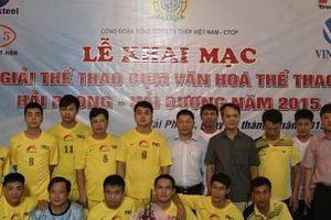 Thép Việt Úc đăng cai thành công Giải thể thao cụm Hải Phòng – Hải Dương 2015