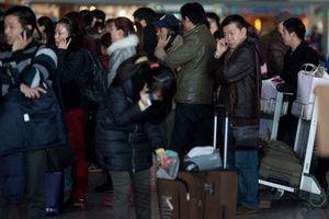 Xe đụng máy bay ở Tân Sơn Nhất, 300 hành khách bị hủy chuyến