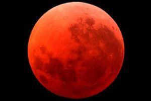 Mặt trăng máu sẽ xuất hiện vào đêm Trung thu