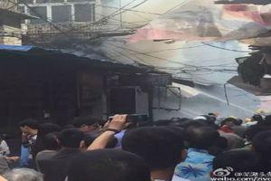 Nổ bình gas ở Trung Quốc, ít nhất 17 người chết