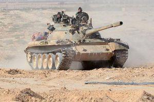 Tường tận xe tăng T-55 Syria tung hoành càn quét IS