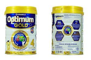 Sữa Optimum Gold 4 giúp bé thông minh, ít ốm vặt