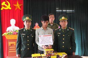 BĐBP Hà Tĩnh thu gần 50kg pháo nổ các loại