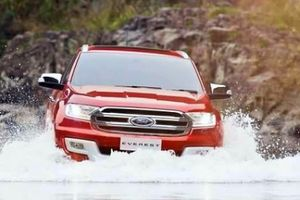 Ford Everest đạt chuẩn an toàn 5 sao ASEAN NCAP