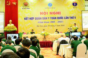 Hội nghị trực tuyến Kết hợp quân dân y toàn quốc lần thứ 5