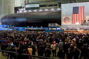 Mỹ hạ thủy siêu tàu ngầm trị giá 2,7 tỷ USD