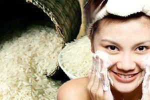 Chế thuốc làm đẹp da mặt từ gạo nếp cực dễ