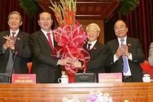 Ông Nguyễn Phú Trọng tái cử chức Tổng Bí thư, chuẩn bị công bố Bộ Chính trị khóa mới