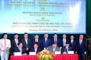 ĐH Bách khoa Đà Nẵng và ĐH Bách khoa Singapore liên kết đào tạo