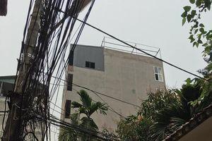 Ai 'bảo kê' cho công trình khủng sai phép vẫn ngang nhiên tồn tại ở phường Mai Dịch ?