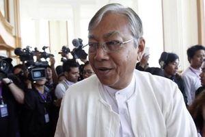 Ông Htin Kyaw là Tổng thống dân sự Myanmar đầu tiên kể từ năm 1960