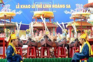 Linh thiêng Lễ khao lề thế lính Hoàng Sa ở huyện đảo Lý Sơn