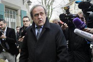 Platini tuyên bố từ chức chủ tịch UEFA