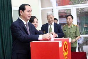 Gần 70 triệu cử tri đi bầu cử Quốc hội khóa XIV và Hội đồng nhân dân 3 cấp
