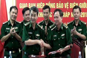 BĐBP Quảng Bình, Quảng Trị giao ban hiệp đồng bảo vệ biên giới khu vực tiếp giáp