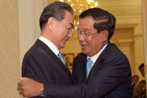Campuchia trong 'ván cờ siêu cường' của Trung Quốc