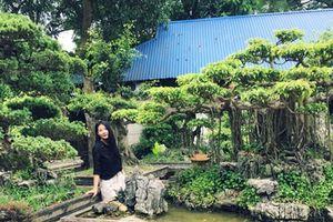 Những khu vườn độc đáo trong biệt thự đại gia Hà Nội