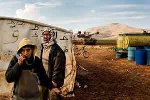 Cuộc sống của dân ở vùng tập trận Thung lũng Jordan