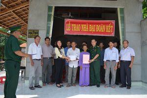 BĐBP Bình Định bàn giao nhà đại đoàn kết cho người nghèo