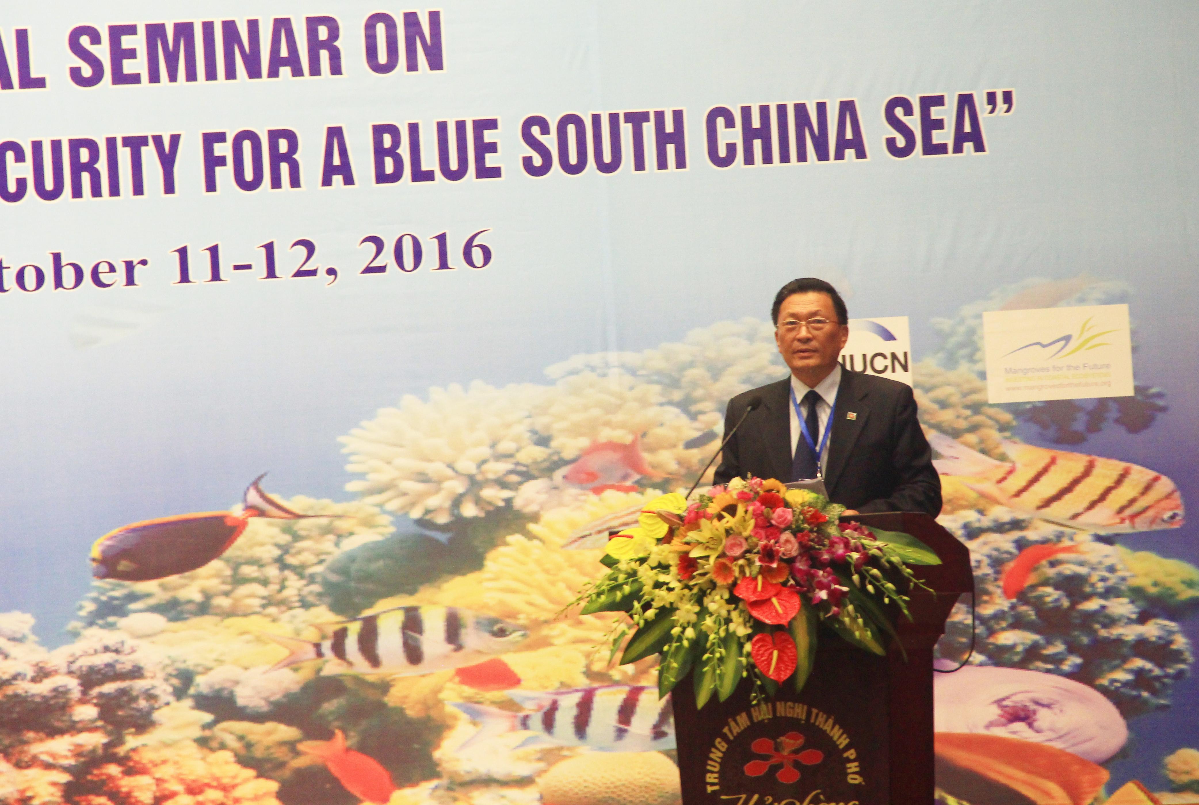 Hội thảo khoa học quốc tế 'An ninh môi trường và hàng hải vì một Biển Đông xanh'