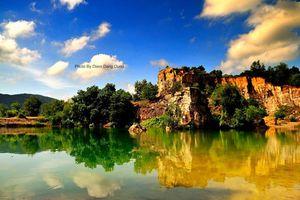 Đẹp mê hồn đồi Tà Pạ ở An Giang