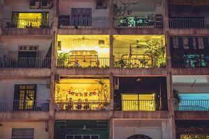 Ghé thăm chung cư cafe nức tiếng Sài thành