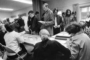 Không khí bầu cử tổng thống Mỹ năm 1972