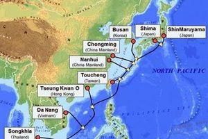 Hoàn tất tuyến cáp ngầm APG chạy qua Việt Nam