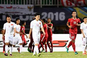 Hàng thủ mắc sai lầm, tuyển Việt Nam thua sát nút Indonesia
