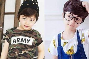 Ba bé trai khiến dân mạng bấn loạn vì 'xinh hơn cả con gái'