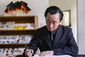 Lãnh đạo Bộ Ngoại giao Việt Nam ký sổ tang tại ĐSQ Đức
