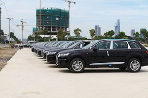 Xe sang Audi phục vụ APEC 2017 thu hút giới chơi xe
