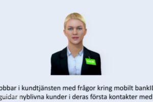 Ngân hàng Thụy Điển cho ra mắt nhân viên robot