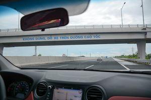 Lái xe trên cao tốc tài xế cần có kỹ năng, ý thức
