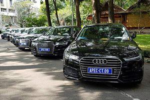 Giá xe Audi phục vụ APEC tại Việt Nam đắt như xe mới