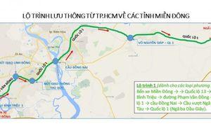 TP.HCM đi các tỉnh miền Đông, miền Tây: Đường nào tránh kẹt xe?
