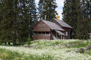 Hình ảnh nơi được mệnh danh là ngôi làng đẹp nhất nước Nga