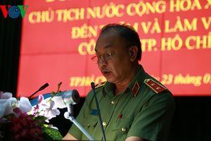 TP HCM ra mắt thí điểm đội đặc nhiệm săn bắt cướp phía Nam
