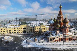 Ngắm thủ đô Moscow trong tháng cuối của mùa đông