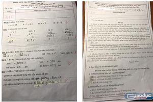 Giáo viên chữa bài thi từ 'đúng thành sai' của học sinh bị điều chuyển công tác