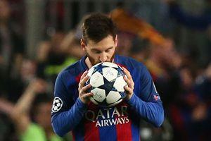 Lập kỷ lục Champions League, Barca đoạt vé vào tứ kết