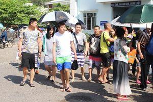Du khách Trung Quốc 'đổ bộ' Nha Trang tăng gần 4 lần