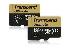 Transcend tung ra thẻ microSD Ultimate siêu bền, giá cao