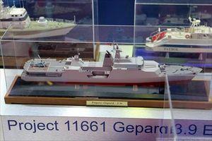 Tàu Gepard 3.9 'khủng' nhất Nga chào hàng VN