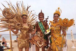 Nguyễn Thị Thành lọt top 3 nhờ trang phục... tái chế tại Miss Eco International