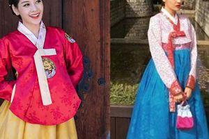 Gái Hàn Hari Won 'lép vế' màn diện Hanbok của Mi Du, Huyền Baby