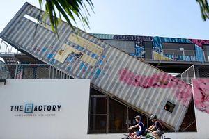 Giới trẻ Sài Gòn hào hứng check-in khu nghệ thuật bằng container
